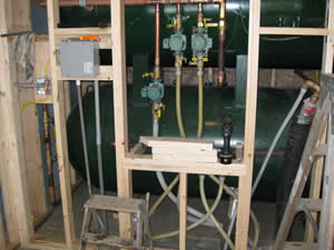 AHONA Warehouse Boiler Room Water Storage