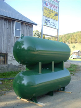 Refurbished Propane Tanks for Water Storage